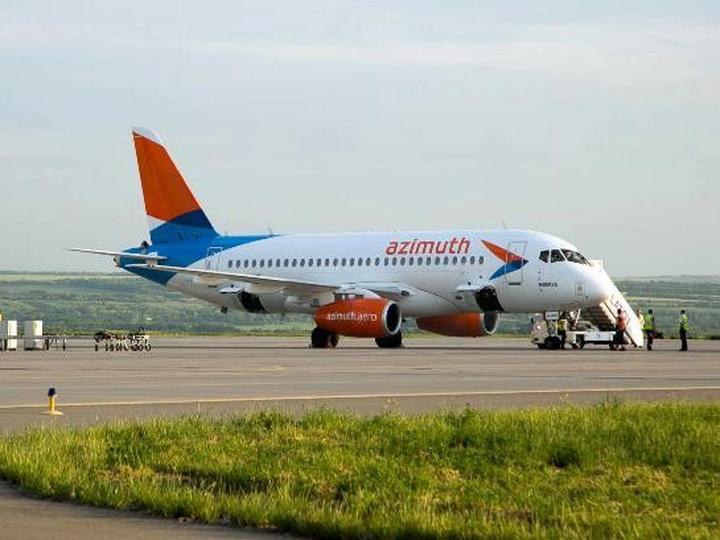 Авиакомпания «Азимут» получила допуск на полеты в Баку