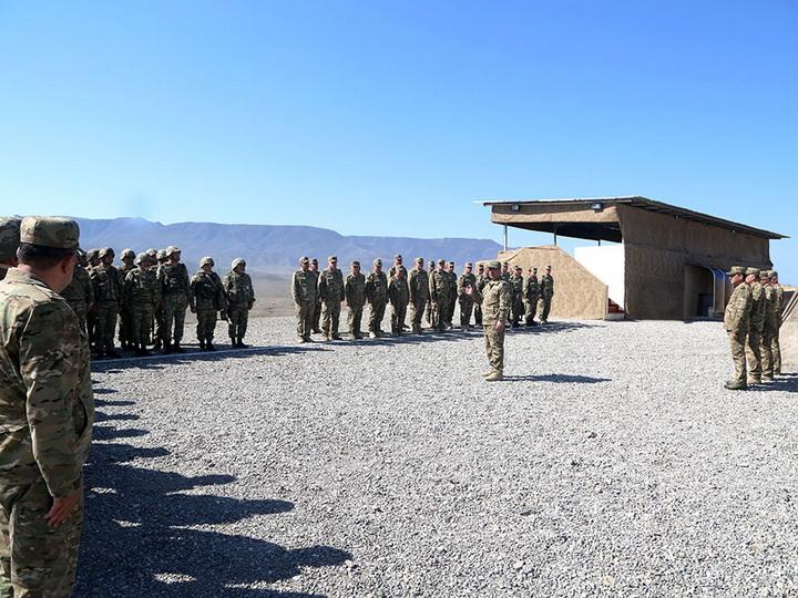 ВС проводит широкомасштабные оперативно-тактические учения с боевой стрельбой - ФОТО - ВИДЕО