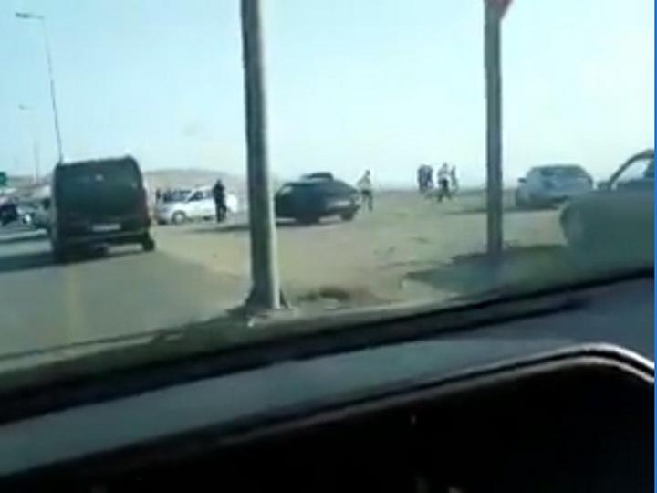 Все от безделья: Как любопытство спровоцировало огромную пробку в Баку – ВИДЕО