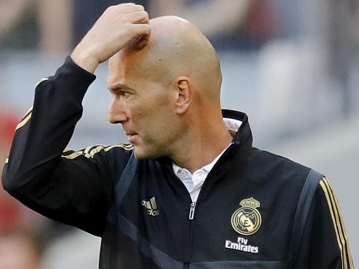 Президент «Реала» ищет замену Зидану