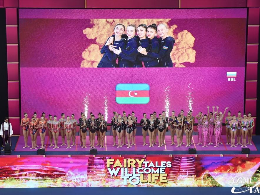В Баку завершился 37-й чемпионат мира по художественной гимнастике - ФОТО
