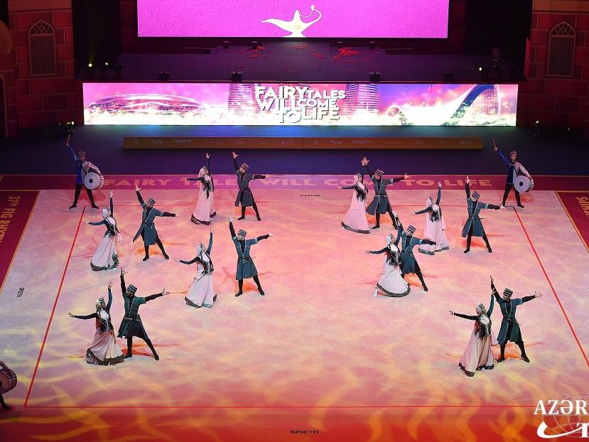 Состоялась торжественная церемония закрытия 37-го чемпионата мира по художественной гимнастике - ФОТО