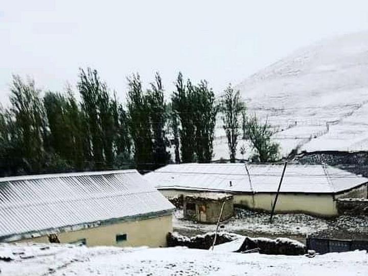 В Азербайджане выпал снег - ФОТО - ВИДЕО