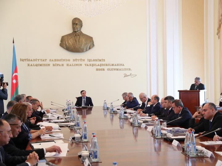Состоялось очередное заседание Кабинета Министров - ФОТО