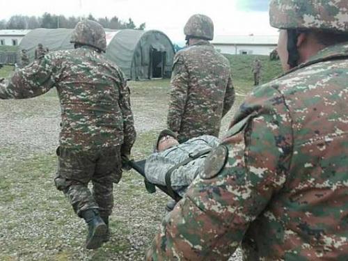 Dağlıq Qarabağda erməni hərbçi yaralanıb