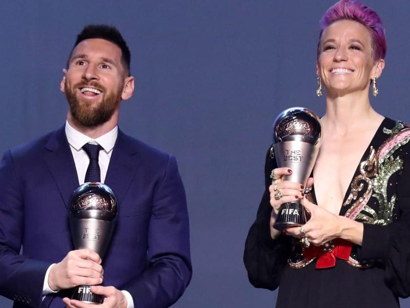Месси - The Best, Роналду отреагировал в Instagram и странная символическая сборная от ФИФА. Подведены итоги футбольного года – ФОТО - ВИДЕО