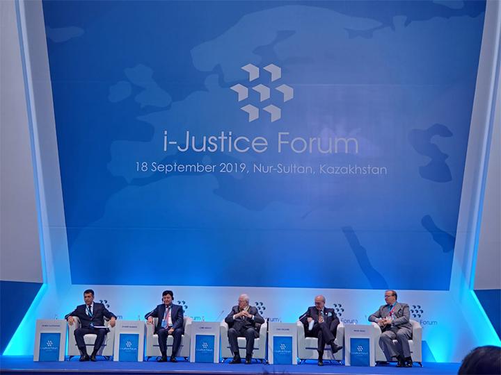 В Казахстане состоялся Международный форум юстиции мирового масштаба - ФОТО