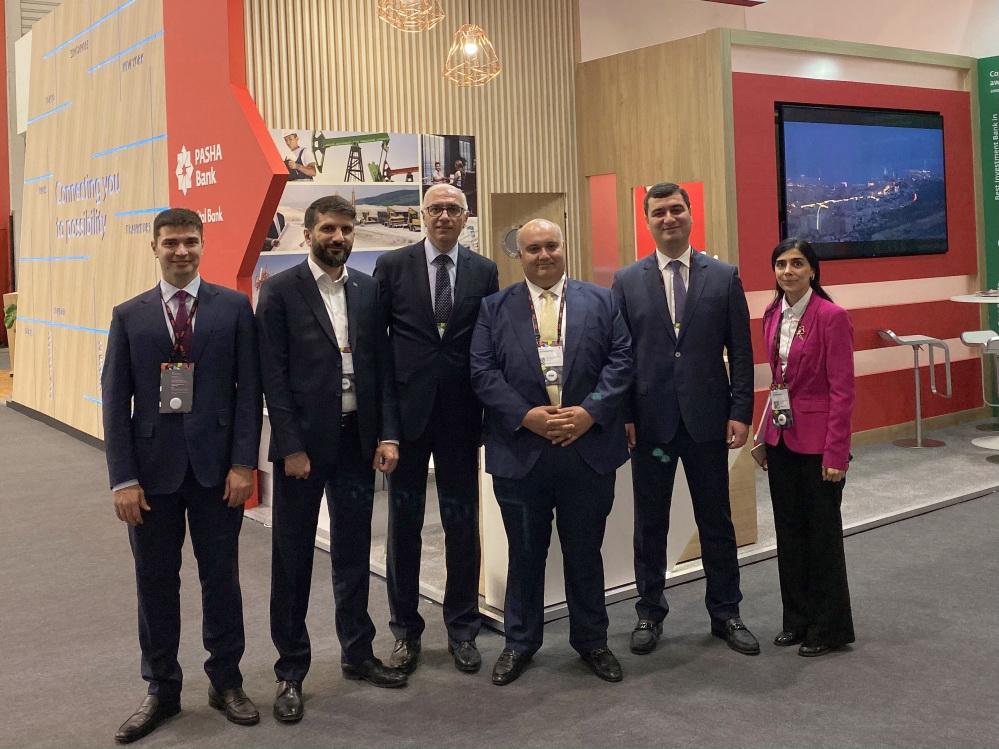 Kapital Bank принимает участие в традиционной выставке SIBOS