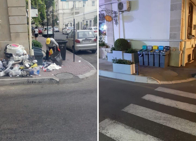 «Наш труд не ценят, мы сами сортируем эти горы мусора»: Как жители центра Баку не оправдали больших надежд – ФОТО