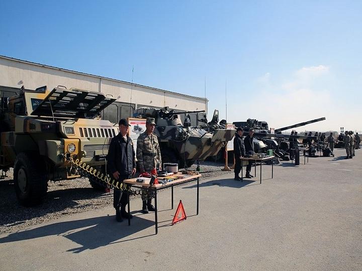 Nazirlik: Silah və hərbi texnika qış mövsümündə istismar rejiminə keçirilir – FOTO