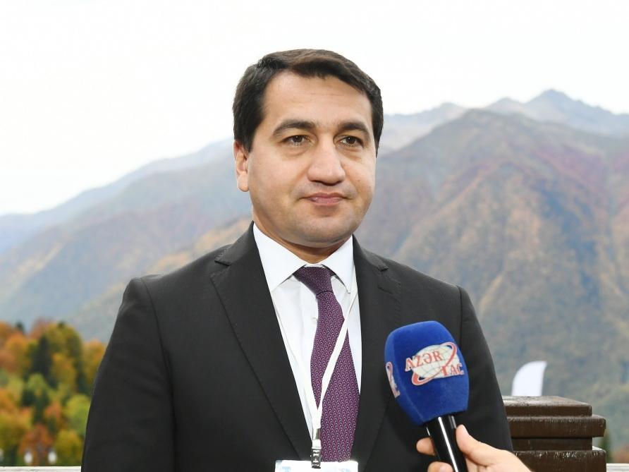 Хикмет Гаджиев: Азербайджан видит большой потенциал для сотрудничества с Францией в сфере безопасности и обороны