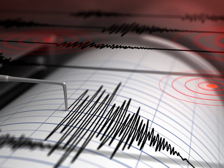 В Каспийском море произошло землетрясение - ФОТО