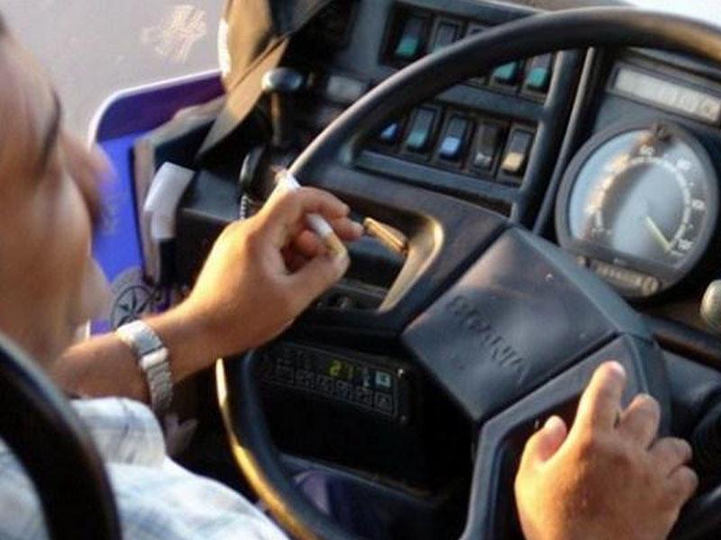 55 avtobus sürücüsü siqaretə görə cəzalandırılıb
