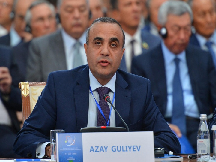 Azay Quliyev Prezident Əliyevin mövqeyini ATƏT PA-da səsləndirdi – VİDEO