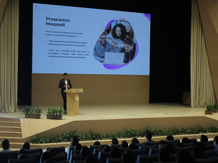 Digital Youth Hub layihəsi təqdim olunub – FOTO