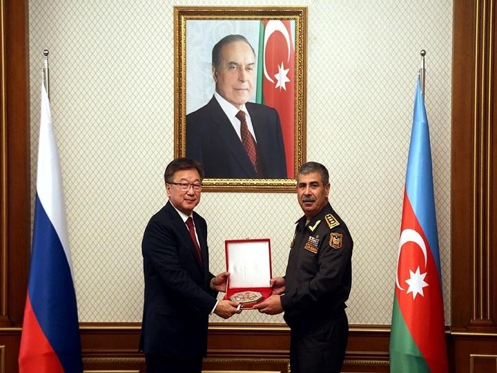 Zakir Həsənov Rusiyanın Baş hərbi prokuroru ilə görüşüb – FOTO