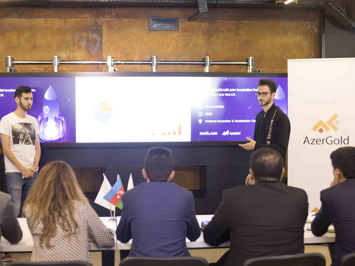 INNOLAND и ЗАО AzerGold определили стартапы в Программу акселерации – ФОТО