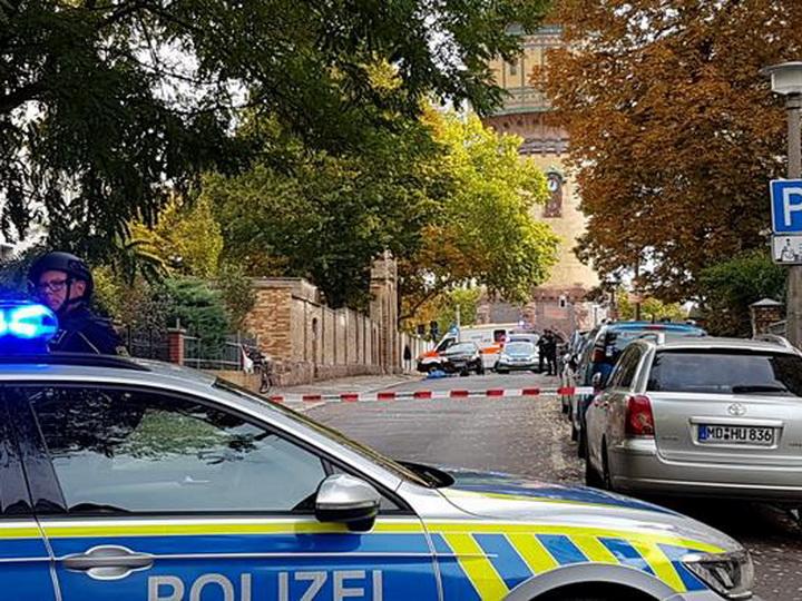 В немецком Галле неизвестные открыли стрельбу, есть жертвы - ФОТО - ВИДЕО