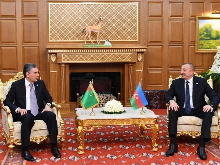 В Ашгабаде состоялась встреча президентов Азербайджана и Туркменистана - ФОТО