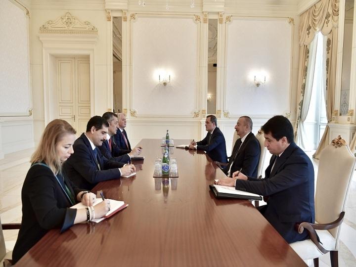 İlham Əliyev Türkiyənin təhsil nazirini qəbul edib – YENİLƏNİB