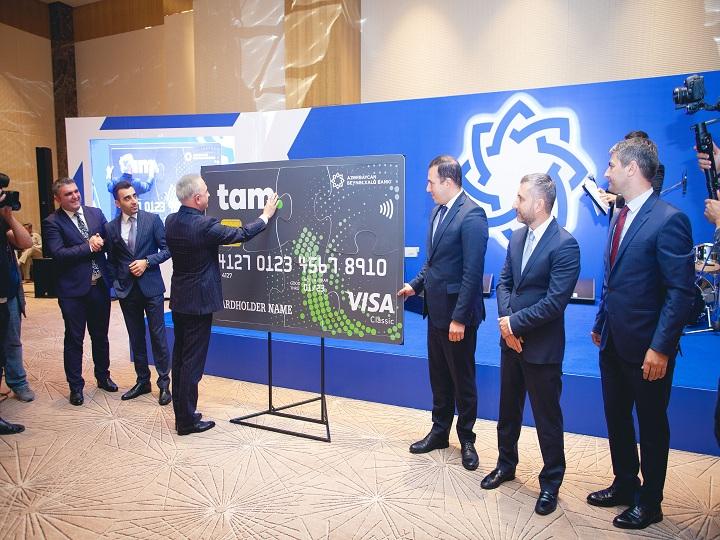 Azərbaycan Beynəlxalq Bankı yeni kart məhsulu olan Tamkartı təqdim etdi – FOTO