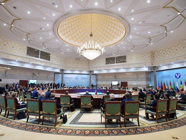 В Ашгабаде состоялось заседание Совета глав государств СНГ в расширенном составе - ФОТО