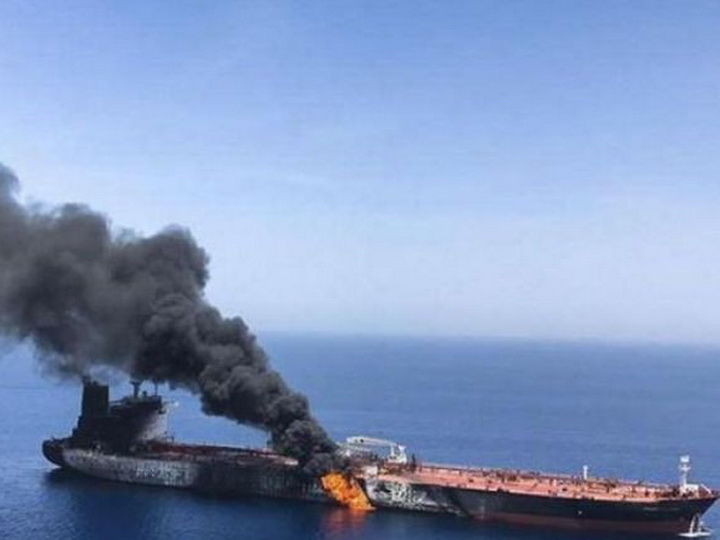 Иранской нефтяной танкер был атакован в Красном море