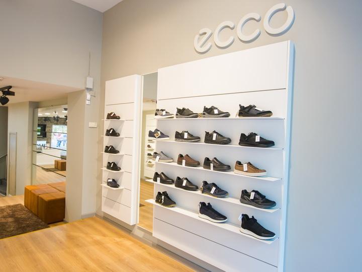 Новый магазин ECCO: В центре города, в центре внимания! - ФОТО
