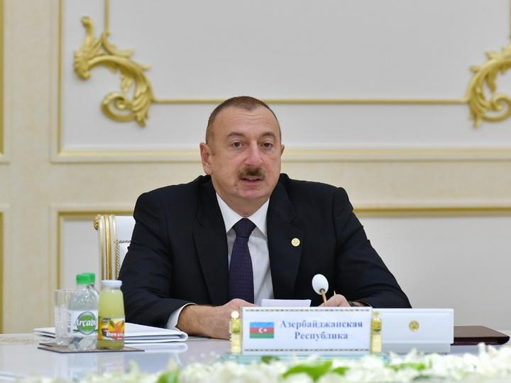 Президент Ильхам Алиев: Героизации фашизма нет места на пространстве СНГ - ФОТО