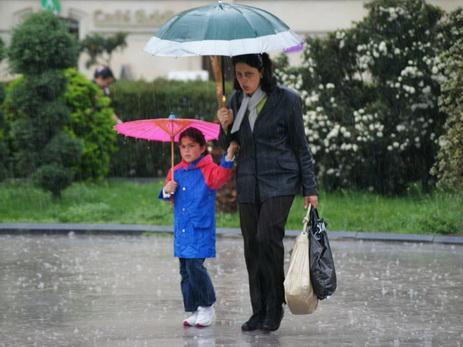 В воскресенье в Баку пасмурно, возможен дождь
