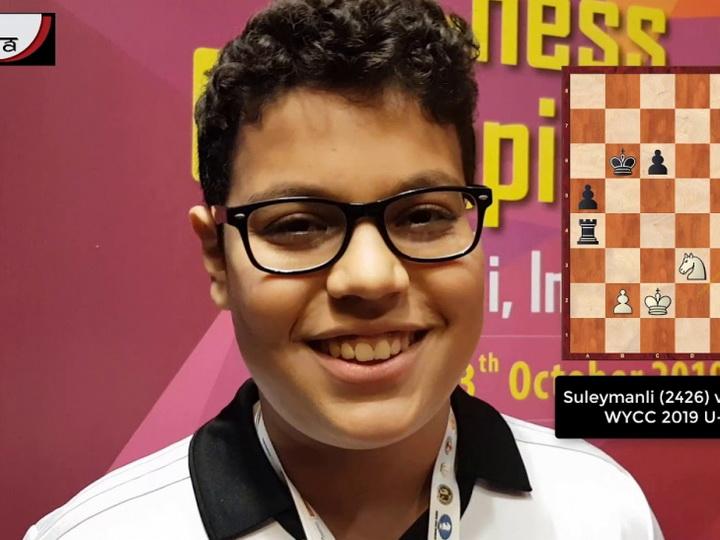 Юный азербайджанский шахматист стал чемпионом мира