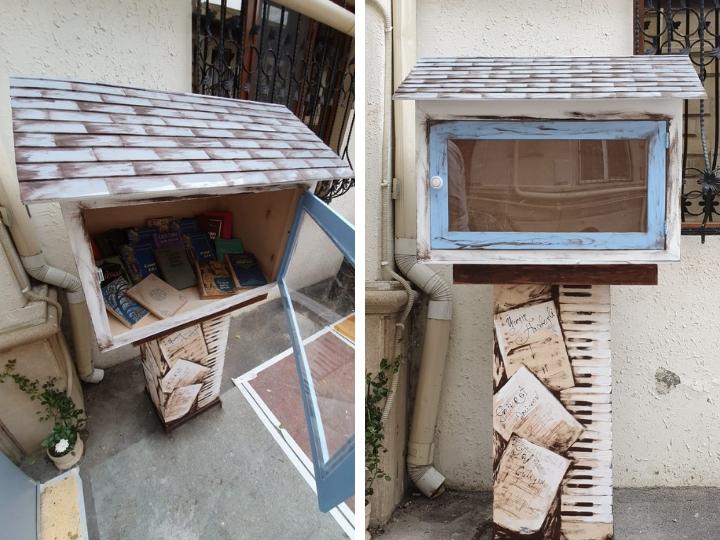 В Баку открывается красивая уличная библиотека – ФОТО