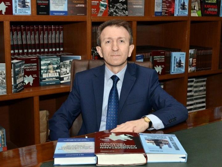 Elçin Əhmədov: Azərbaycan Prezidenti Ermənistanın işğalçılıq siyasətini və faşist ideologiyasını faktlarla ifşa etdi