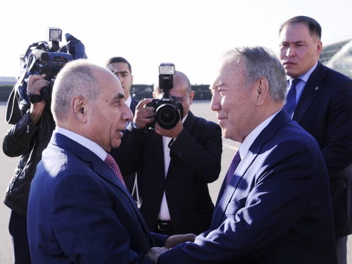 Нурсултан Назарбаев прибыл в Азербайджан - ФОТО