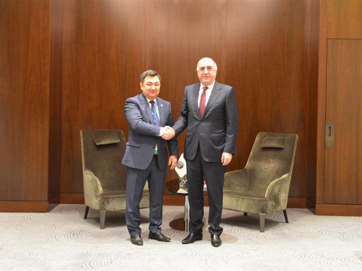 Эльмар Мамедъяров встретился с президентом Тюркской академии - ФОТО