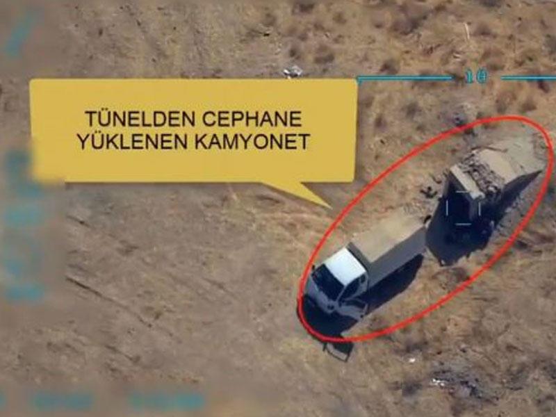 Türk qırıcıları terrorçuları havaya uçurdu - VİDEO