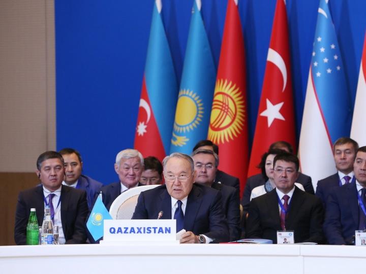 Нурсултан Назарбаев предложил разработать программу «Тюркское видение 2040»