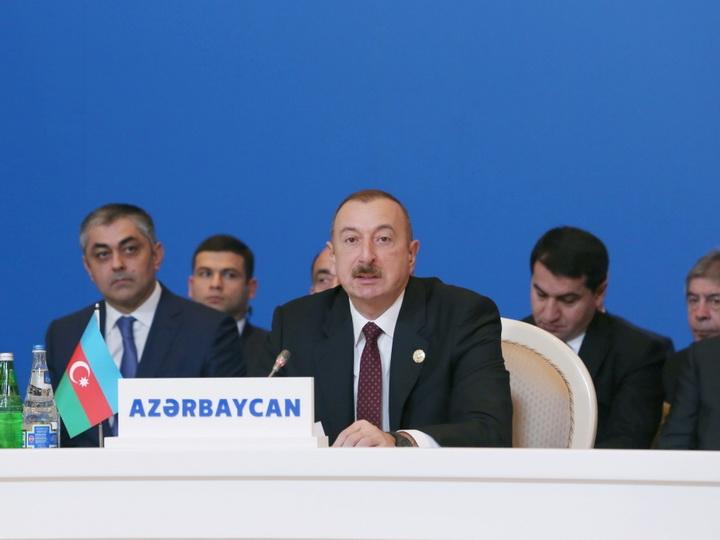 Ильхам Алиев: Объединение Зангезура с Арменией географически раскололо великий Тюркский мир