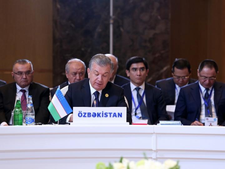 Президент Узбекистана о необходимости эффективного использования потенциала железной дороги Баку-Тбилиси-Карс