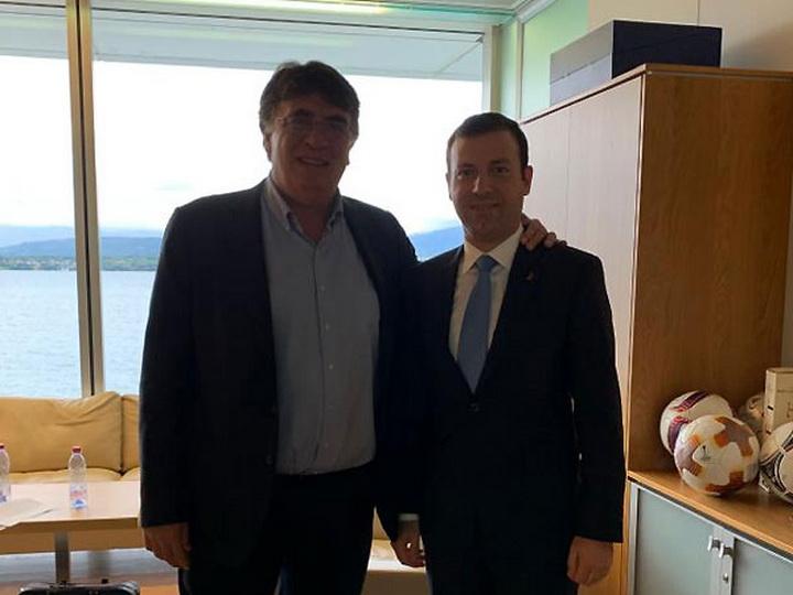 Эльхан Мамедов предложил УЕФА использовать VAR в матчах квалификации ЧЕ и ЧМ