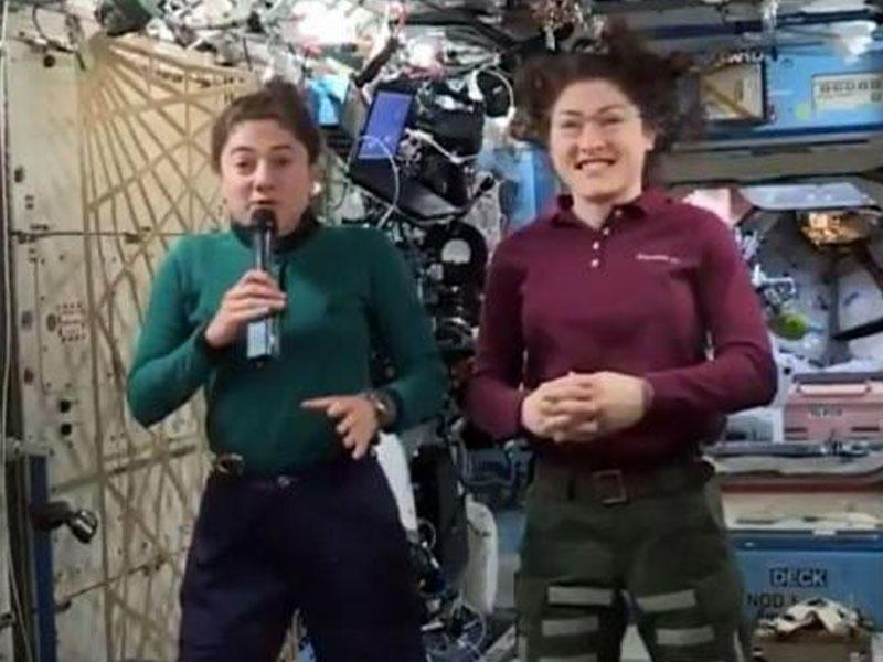 NASA ilk dəfə kosmosa ancaq qadınları yollayacaq