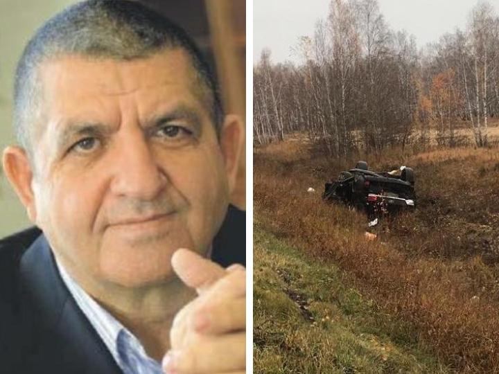 Известный азербайджанский бизнесмен погиб в аварии в Челябинске