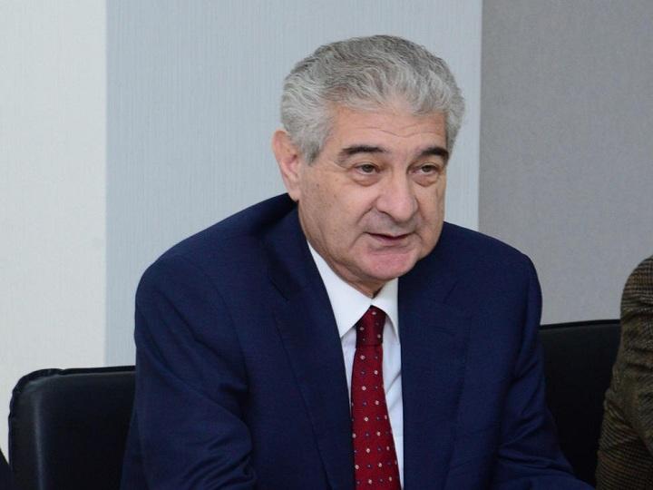 Əli Əhmədov: Azərbaycan Respublikası bütün dünyada ən uğurlu gənc dövlət hesab olunur