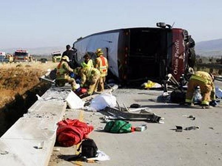 В Саудовской Аравии перевернулся автобус с паломниками