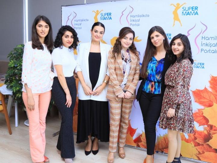 Super Mama организовал в Баку образовательный мульти-семинардля беременных