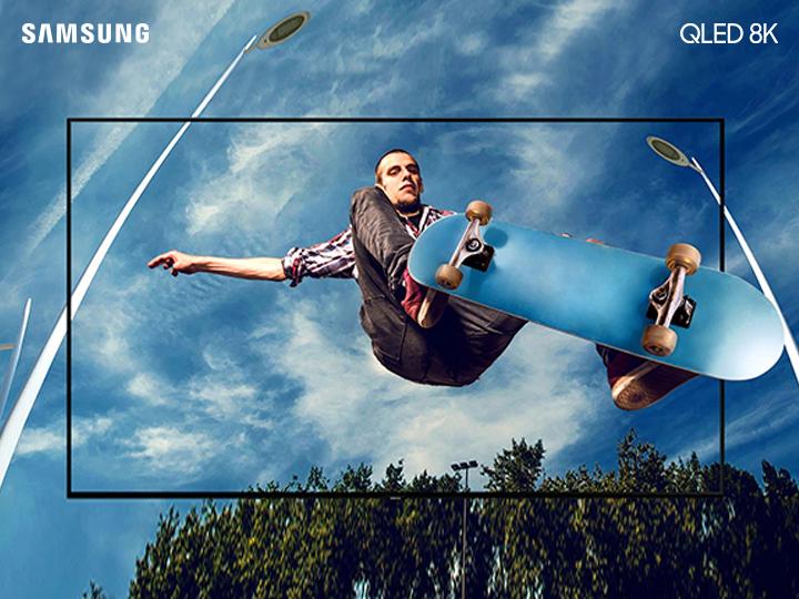 Samsung QLED 8K – yüksək keyfiyyətli təsvir