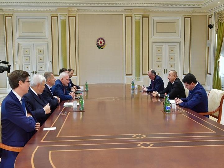 İlham Əliyev ATƏT-in Minsk qrupunun həmsədrlərini qəbul edib – YENİLƏNİB