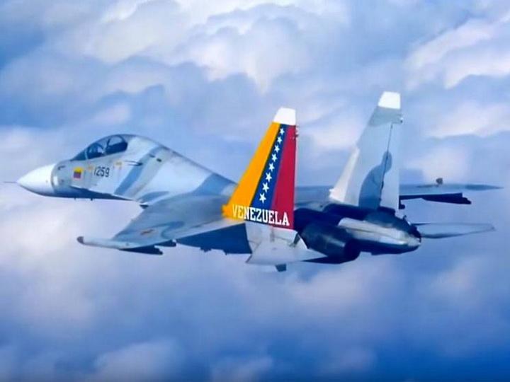 В Венесуэле потерпел крушение истребитель Су-30