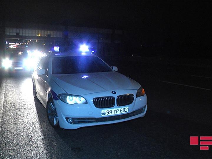 В Баку автомобиль сбил пешехода и скрылся с места ДТП