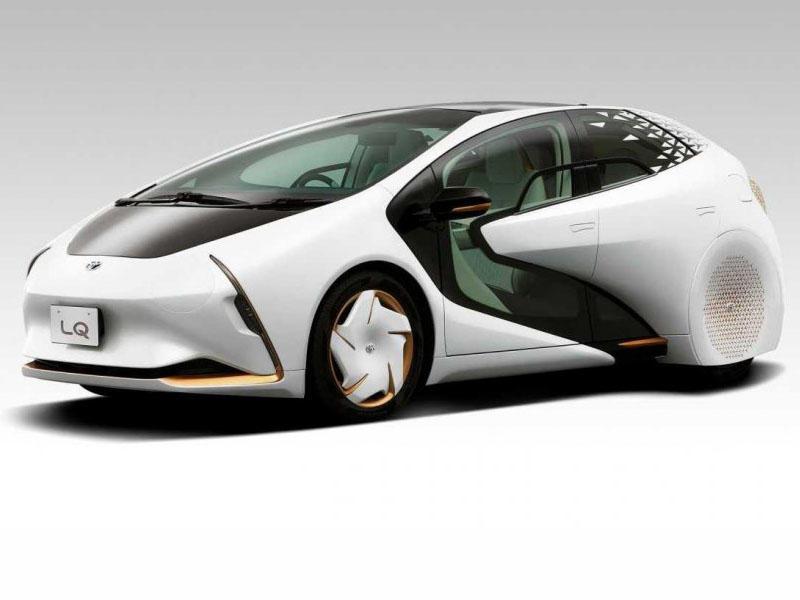 """""""Toyota"""" 2040-cı ilin avtomobilini nümayiş etdirib - FOTO"""
